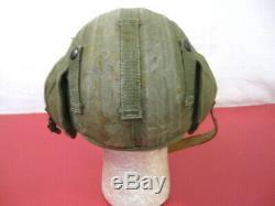 Seconde Guerre Mondiale Usaaf Ère Armée Air Force M4a2 Flak Casque Complet Withchin Bracelet De Nice