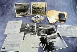 Soldat De La Seconde Guerre Mondiale Armée De La Us Army Air Force Corp. Groupe De Bombardiers De Combat Usaf Name