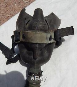 Super Rare! Masque À Oxygène A-15-a Original, Pilote De L'armée De Terre Américaine, 2 E Guerre Mondiale, 1945