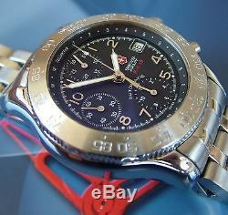 Super Rare Swiss Army F / A-18 Force Aérien Chronographe Automatique 7750 Valjoux + Xtras