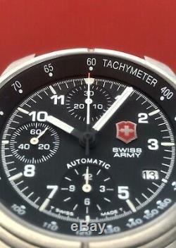 Swiss Army Air Victorinox Force 9g600 Automatique Chronographe Valjoux 7750