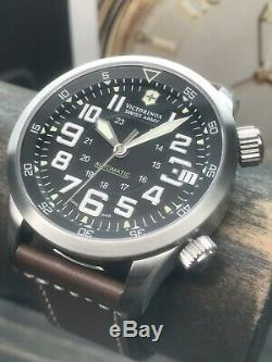 Swiss Army Airboss Victorinox Mach 7 Swiss Air Force 45mm 100m Suisse Automatique