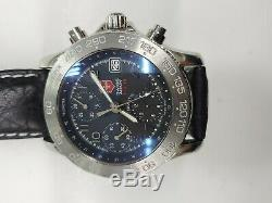 Swiss Army F / A-18 Air Force Automatique Chronographe 40 MM Sapphire 330 Pieds