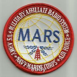 Système Radio D'affiliation Militaire De L'armée Marine Usmc Air Force Mars Patch Militaire