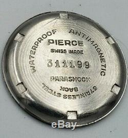 Très Rare Armée Et Armée De L'air D'échange Automatique Pierce Vintage Military Watch