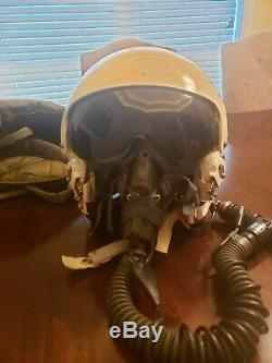 U. S. Casque De Vol Armée Gentex, La Taille De L'action De Guerre En Irak Avec Un Grand Sac, Gants Neufs