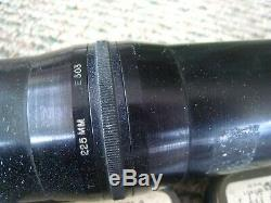 U. S. M. C. 16mm Gun Camera, Lens, Wwii Us Air Force Army Air Force. 2 Magazines