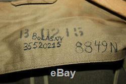 U. S. Ww2 Originale Army Air Forces Britannique A Fait 8 Af Patché Veste Et 1942 D