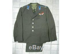 Uniforme Air Force Aviation Militaire Lieutenant-colonel Armée Soviétique Russe Urss