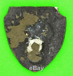 Us Army 9ème Air Force Theatre-made Bullion Patch Original Ww2 Wwii