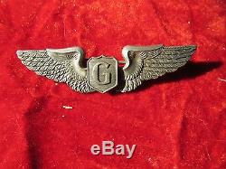 Us Army Air Force Aaf Glider Pilot Wing 3 Pouces Gaunt