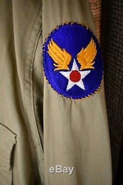 Us Army Air Force Officier Ww2 Robe Uniforme Pinks Greens Veste Chemise Cravate Pantalon