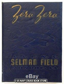 Us Army Air Force Selman Air Field 1944 Classe 44-5 Annuaire