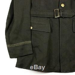 Us Army Air Forces Usaaf Officier Od Laine Gabardine Robe Veste 42l Grand
