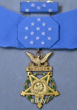 Us Commande De La Commande Ww1 Ww2, Armée De Terre, Marine, Air Force, Full Set Of Medal Honor Top Rare