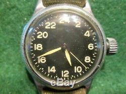 Us Militaire Elgin A11us Armée Air Force, Rarement Rencontrés Serviced Dial- 24 Heures