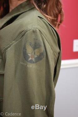 Us Ww2 Aaf Aac Armée De L'air Corps Des Forces Aériennes Vol Combinaison Vol Nr Monnaie A38