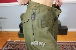 Us Ww2 Corps D'armée De L'air Des Forces A-11-a Doublé Pantalons Extreme Cold Weather Vol J86