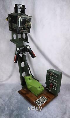 Us Ww2 Us Army Air Force Corp B24 Panneau De Contrôle Usaf Pour Tourelle Gunsight Liberator