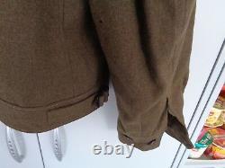 Us Wwii Uniformjacke M-1944 M. Abzeichen Original Vernäht Caporal Army/airforce