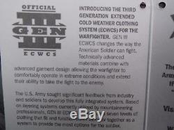 Véritable Armée / Armée De L'air Des États-unis Issue Gen3 (ecwcs) Parka Extreme Cold Weather -medium