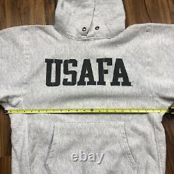 Vintage 90s Reverse Weave Champion Sweatsuit Hoodie Pants Usafa Air Force 3m LM