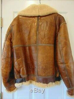 Vintage Avirex Coat # Ac-17755 Type B-3 Army Air Forces -nous. Taille 36