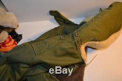 Vintage Forces Aériennes U. S. Armée B-11 Winter Parka Blouson Dann Vêtements Sz 36
