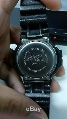 Vintage G-shock Dw-5950 Airforce Pilot'94 Hiver Premium Metallic Black Limited
