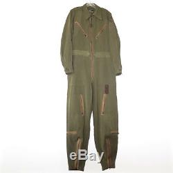 Vintage Original Ww2 Usaaf Army Air Forces Coverall L-1 Suit Flying Medium Long