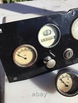 Vintage Speedster Dashboard Fire Truck Teens 10s 20s 30s Hot Rod Voiture De Course D'avant-guerre