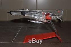 Vintage Topping Precise Turkey Army Air Force Modèle De Bureau Phantom F4 F-4e