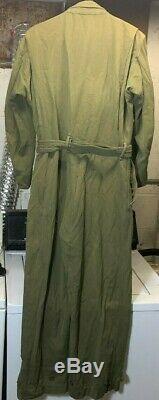 Vintage Ww11 1941-1945 Ww2 Usaaf Army Air Forces D'été De Vol Costume Yt36