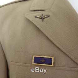 Vintage Ww2 Army Air Force Us Air Force 1945 Uniforme Veste Bullion Patch 15 Aaf