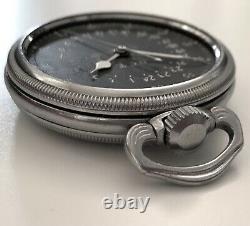 Vtg Hamilton Gct 4992b Wwii 24h Armée De L'air Américaine Pocket Militaire Watch 22j