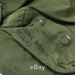 Vtg Military Wwii Gilet De Subsistance Pour Secours Militaire Type B-1 De L'armée De L'air
