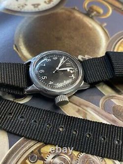 Waltham 6/0 Military A-11 Us Army Air Force Ww2 1940's Vintage Watch