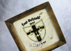 Ww2 Allemand Jg27 Afrika Luftwaffe Air Force Wall Plaque Bouclier De L'armée Américaine Vétérinaire Immobilier