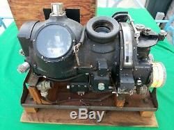 Ww2 Armée Us Air Force / Marine Viseur Norden Avec La Boîte Originale De Stockage