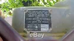 Ww2 Armée Us Air Force Usaaf Sperry Balle Tourelle Unité De Commande Main Trigger