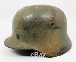 Ww2 Casque Allemand Combat Camo Luftwaffe Us Army Air Force La Première Guerre Mondiale Camouflage Militaire