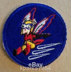 Ww2 Era Army Air Corp Pilote De L'airforce Service Féminin (guêpe) Patch De Fifinella