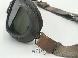 Ww2 Raf Britannique Flight Lunettes Wwii De Nice Army Air Corps Us Air Force Pilote De La Force
