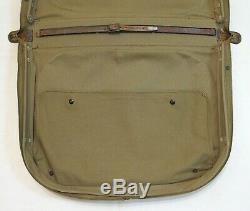 Ww2 U. S. Army Air Forces B-4 Officier De Suitcase Excellent État Usaaf