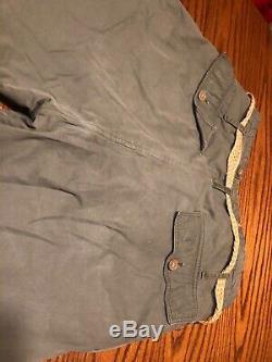Ww2 Us Army Air Force A-9 Pantalon De Vol / Pantalons Taille 38 Mfg Stagg Coat Co Inc