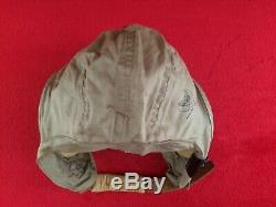 Ww2 Us Army Air Force An-h-15 Casque Canvas Flight Taille Moyenne Usaaf Pilot