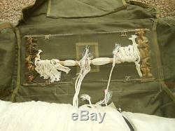 Ww2 Us Army Air Force Anne-coffre Air-4 Parachute Tres Jolie
