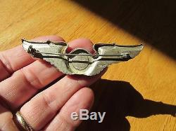 Ww2 Us Army Air Force Broche Aile Arrière Navigator Sterling 3 Pouces Usaaf