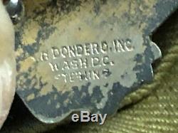 Ww2 Us Army Air Force De Ike Jacket 15e Air Force 301e Bomb Group