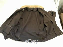Ww2 Us Army Air Force Extérieure Flying Jacket Type F2 Electriclly Chauffée Flight Suit